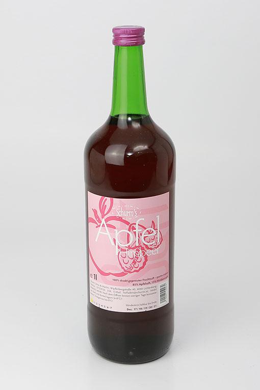 Produktbild Apfel-Himbeersaft 1Ltr. von Schurms Obsthof