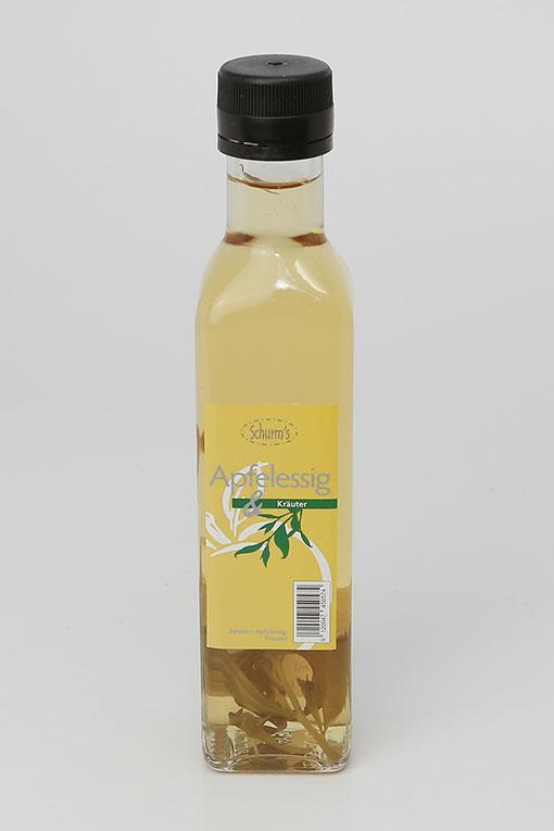 Produktbild Apfel-Kräuteressig 0,25Ltr von Schurms Obsthof
