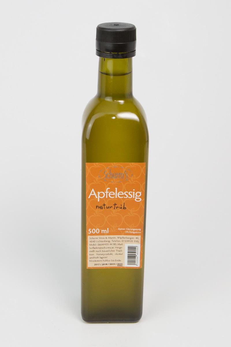 Produktbild Apfelessig naturtrüb 0,5Ltr von Schurms Obsthof
