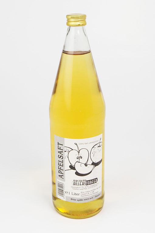 Produktbild Apfelsaft klar von Obstbau Allerstorfer